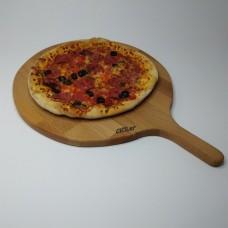 Ahşap Saplı Pizza Tahtası
