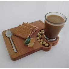 Caffetta Ahşap Servis Sunum