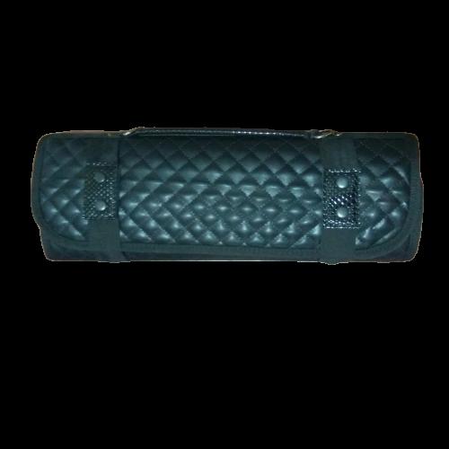 SAMUR 6'lı Kapitoneli Rulo Deri Çantalı Set