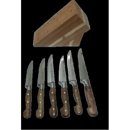 6'lı Mutfak Bıçak Seti