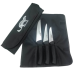 Samur Çantalı 3'lü Kasap Bıçağı Seti